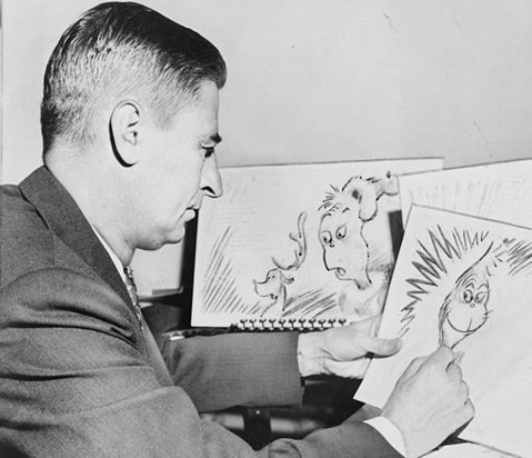 Grinches or Mensches, Ted Geisel could draw them all. With a wink and a nod to the late Dr. Seuss, the author sees Grinches among the Republicans in Congress this year.