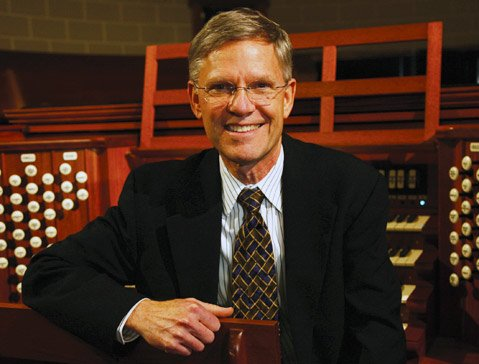 <b>NICE PIPES:</b>  Organist, scholar, and former UCSB professor James Welch returns to campus this Friday, January 10, for a concert in celebration of the school's Flentrop organ, which turns 40 this year.