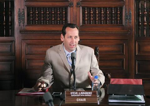 Fifth District Supervisor Steve Lavagnino