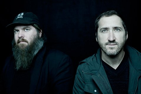 <b>OK, COMPUTER:</b>  Pinback's Rob Crow (left) and Zach Smith take the stage at Velvet Jones this week in support of the band's most recent album, Information Retrieved.