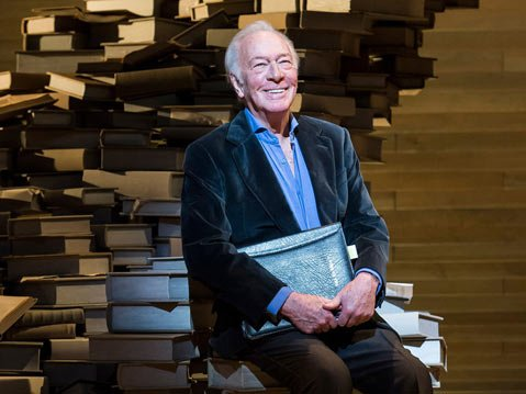 "Christopher Plummer in ""A Word or Two,"" playing January 19 through February 9, 2014"