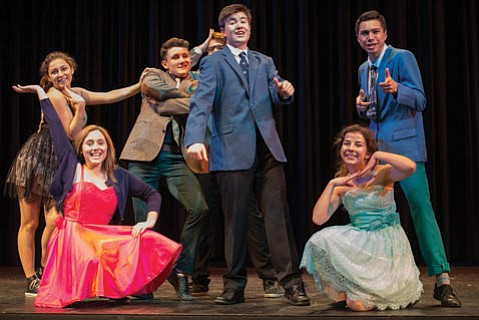 The cast of <i>Music of the Night</i> includes some of the city's most talented teens.