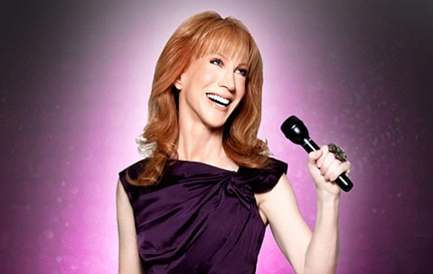 <b>FUNNY FACE:</b>  Bravo's leading lady, Kathy Griffin, takes on Santa Barbara on February 1.