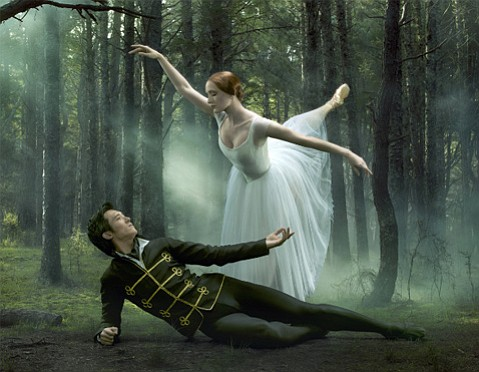 <b>GHOSTLY VISIONS:</b> Gillian Murphy dances the lead role in this production of <i>Giselle</i>.