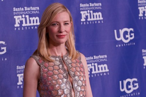 Cate Blanchett on the red carpet of the 2014 SBIFF