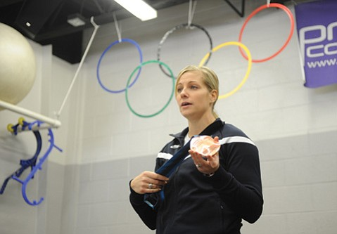 Erin Pac Blumert earned a bronze medal for the U.S. in 2010 as the driver in the two-woman