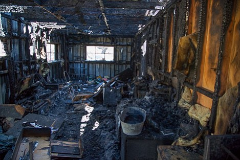 VWR headquarters and all of the equipment inside was completely destroyed during the While Fire.