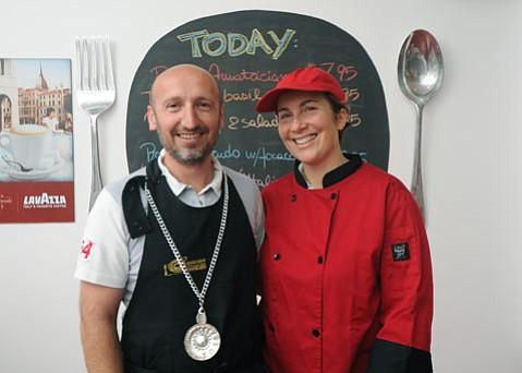 Good eats are at Antonio and Elisabetta Gerli's Sorriso Italiano.