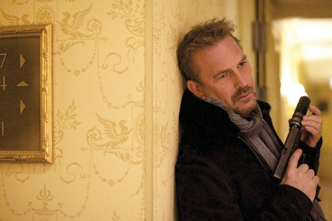 <b>BORED TO DEATH:</b>  Kevin Costner gives a languid performance as a CIA operative fighting for his life in 3 Days to Kill.