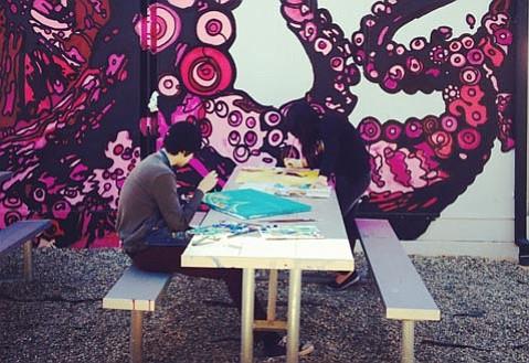<em>VADA Draw</em> Takes Over the S.B. Arts Foundry