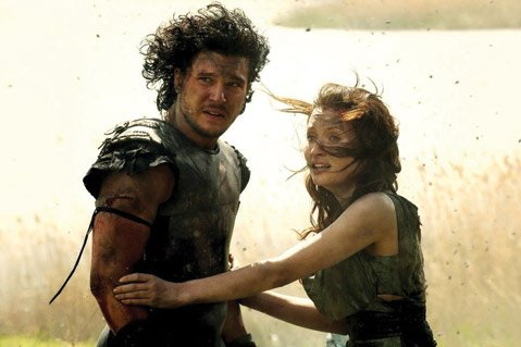 <b>PAUL'S PEAK:</b>  Emily Browning stars alongside Kit Harington (Game of Thrones) in B moviemaker Paul W.S. Anderson's high-lava mark, <i>Pompeii</i>.