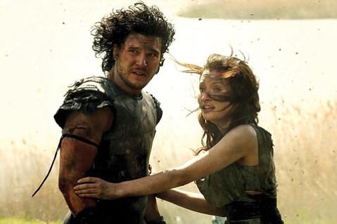 <b>PAUL'S PEAK:</b>  Emily Browning stars alongside Kit Harington (Game of Thrones) in B moviemaker Paul W.S. Anderson's high-lava mark, <i>Pompeii</i>.