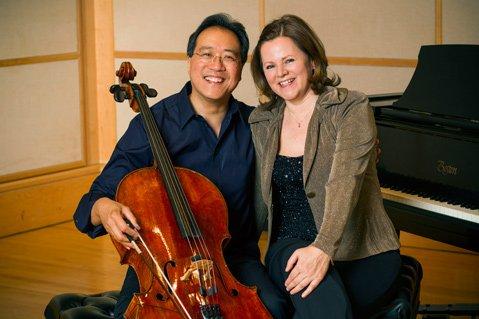 Yo-Yo Ma and Kathryn Stott