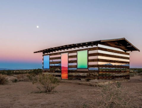Phillip K. Smith's <i>Lucid Stead</i>.