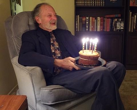Birthday celebration in 2012.