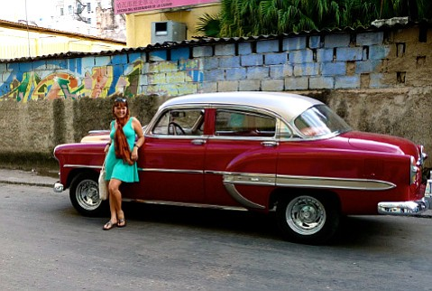 Visiting Cuba on a permaculture convergence, Hannah Eckberg found everything she had hoped for, including vintage cars.
