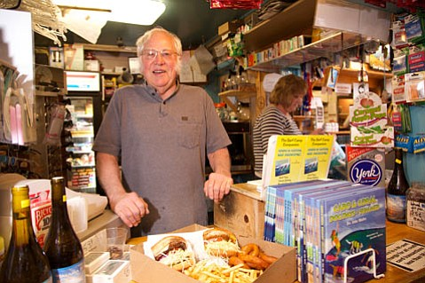 Don Eittreim, 79, owner of the Jalama Beach Store & Grill.