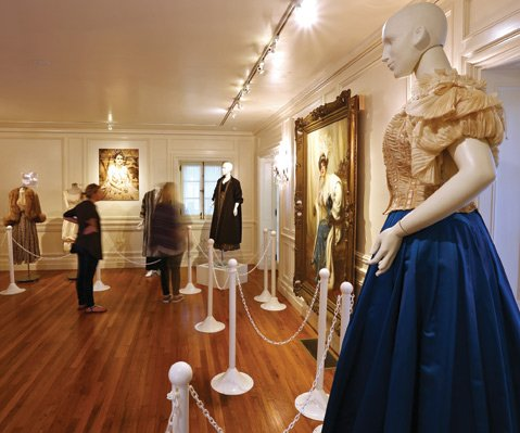 <b>GANNA'S GOWNS:</b> Madame Ganna Walska's couture clothing makes up part of the exhibit Enemy of the Average.