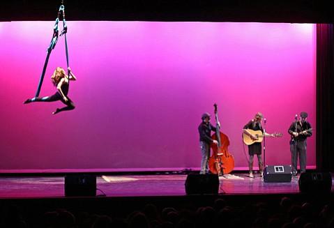 The Santa Barbara-based nonprofit music school hosts a night of fun at the Marjorie Luke Theatre.
