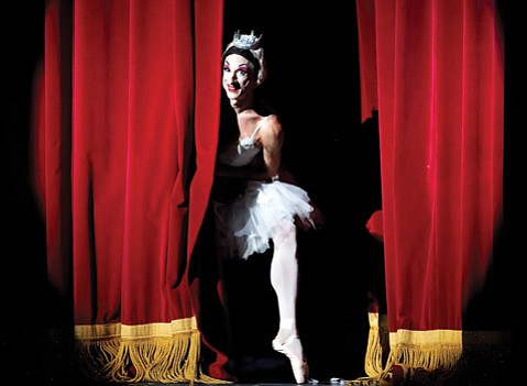 <b>ON POINTE:</b>  This spring's art offerings run the gamut from mid-century operas to  Australian psych-rock outfits to the all-male ballet troupe Les Ballets Trockadero de Monte Carlo (pictured above), which is expertly toeing the line between camp and high art.