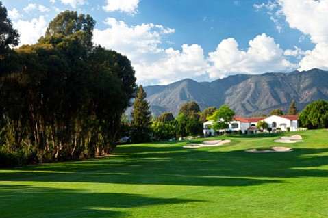 Hole 9 at Ojai Valley Inn and Spa