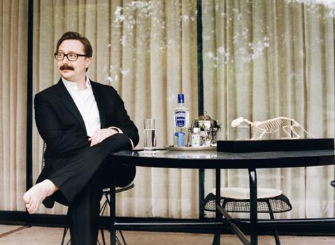 <b>EXPERT OPINION:</b>  The Daily Show's John Hodgman gets personal for his new one-man show, I Stole Your Dad, which comes to Campbell Hall on April 1.