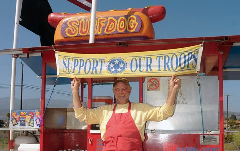 Surf Dog sole proprietor and executive chef Bill Connell.