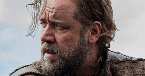 <b>HARD RAIN:</b>  Russell Crowe is deluged with clunky plot oddities in the title role of <i>Noah</i>.