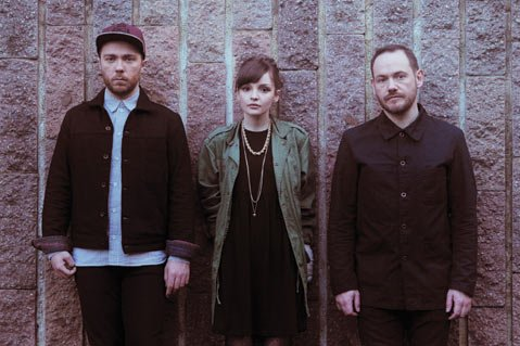 The Glasgow trio Chvrches headlines the Ventura Theater on April 15.