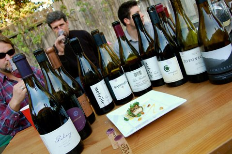 <b>BOTTLES TO KNOW:</b> Among the 18 cool-climate syrah tasted were wines from Ampelos, Bonaccorsi, Gainey, Foley, Jaffurs, La Fenêtre, Luminesce, Melville, Ojai Vineyard, Samsara, Vallin, and Zotovich.