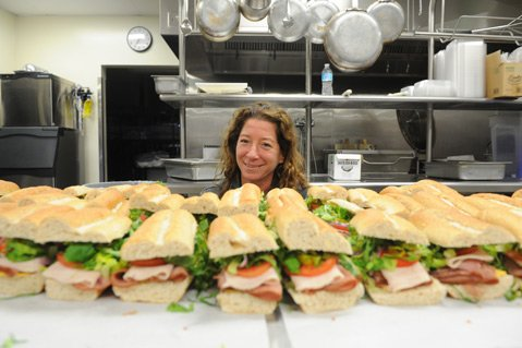 <b>Many Mouths:</b> School food czar Nancy Weiss is responsible for feeding 6,500 hungry kids every day.
