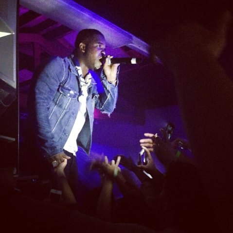 CROWD CONTROL: A$AP Ferg ignited some friendly, sweaty moshing during his Tuesday night show at La Casa de la Raza.