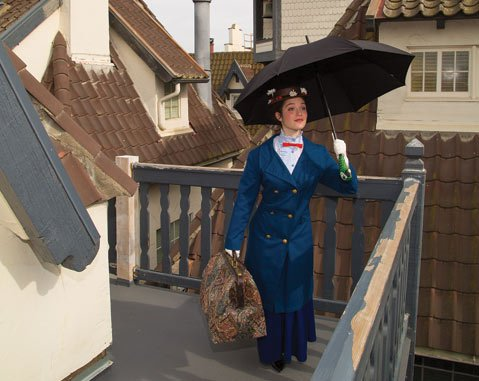 Sofia Ross as Mary Poppins