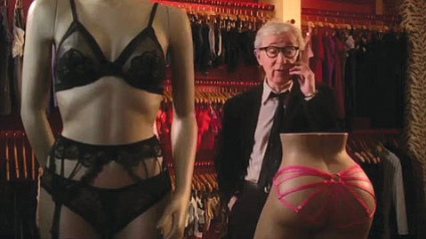 <b>SMALL-TIME PIMP:</b>  Costarring Woody Allen, <i>Fading Gigolo</i> is well cast but preposterously plotted.