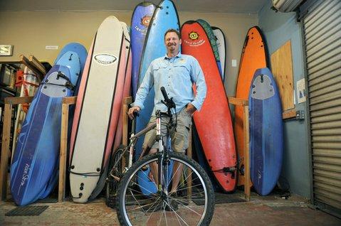 Mike Cohen of the Santa Barbara Adventure Company