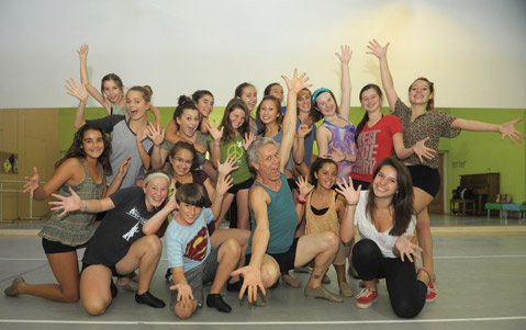 <b>WELCOME HOME: </b> Santa Barbara Dance Arts students will celebrate the opening of the organization's new studio on May 22.
