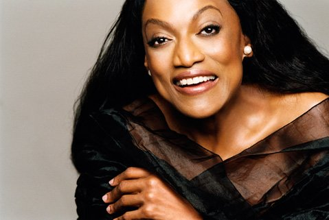 <b>VOICES CARRY:</b>  Singer Jessye Norman discusses her new memoir, <i>Stand Up Straight and Sing!</i>, at the Music Academy of the West on May 16.
