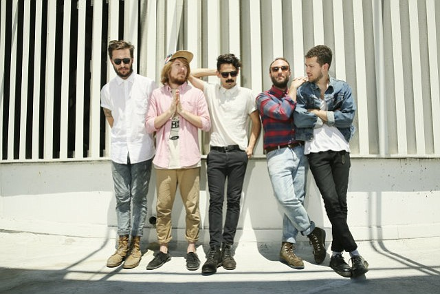 SCHOOLHOUSE ROCK: We grilled Local Natives' Nik Ewing (far left) about his favorite college eats. The band play's UCSB's Extravaganza this Sunday, May 18.