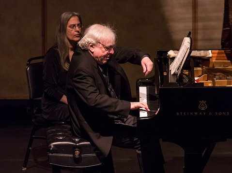Richard Goode at the Lobero Theatre
