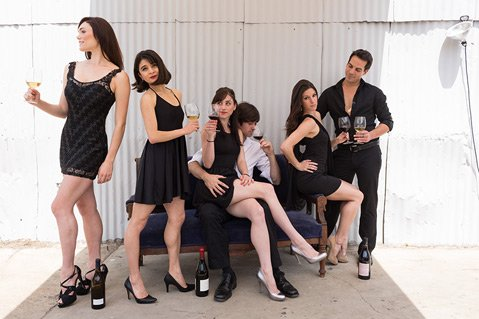 State Street Ballet interprets AVA Santa Barbara and Pali Wine Co. in Funk Zone performance on May 29.