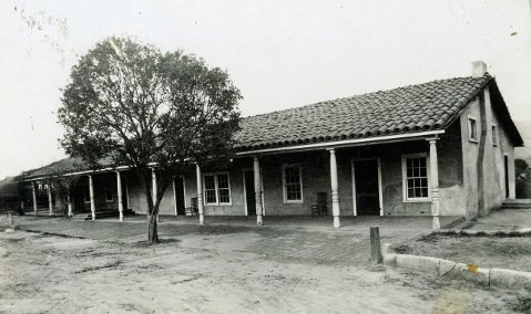 Associated Charities, which became the Family Service Agency, moved to the Arellanes adobe at 800 Santa Barbara Street in 1910.