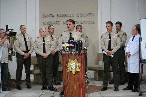 Santa Barbara Sheriff's press conference on the Isla Vista shooting  (May 24, 2014)