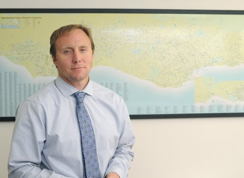 <b>DRY OR WET?</b>  Is the permit for the city's desalination plant still good? Acting water czar Josh Haggmark says yes and is hoping state officials will agree.