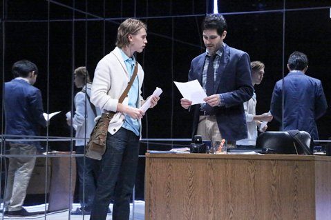 Austin Butler and David Clayton Rogers in Death of the Author