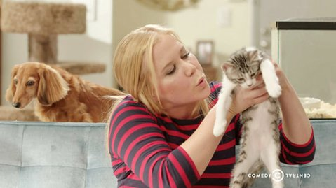 THERE'S SOMETHING ABOUT AMY: Comedienne Amy Schumer stars in the Comedy Central sketch series <em>Inside Amy Schumer</em>.