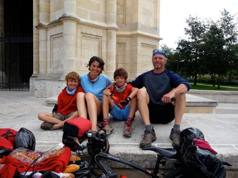 The Genner family's biking adventure had them pedaling together for nearly 600 days.
