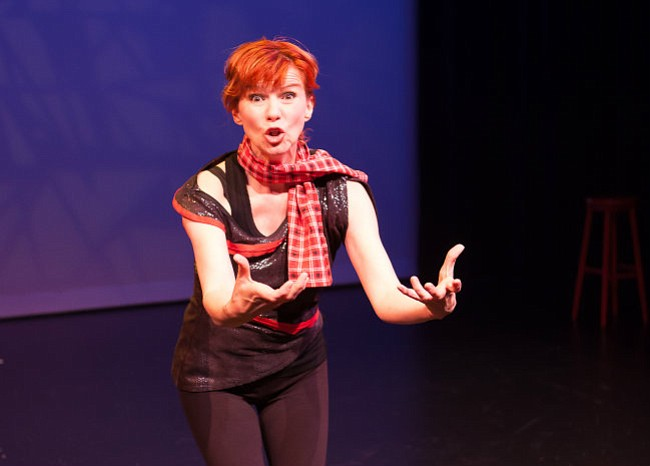 MULTIFACETED: Sue Turner-Cray as Sarah Taylor in her one-woman production titled <em>Manchester Girl</em>.