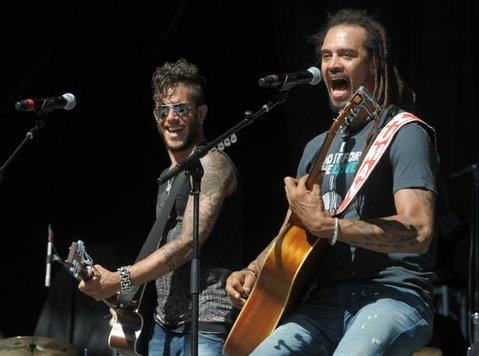 Michael Franti and Dave Shul