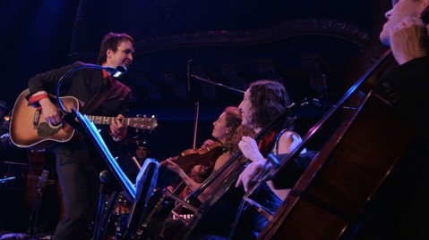 The San Francisco singer returns to Sings Like Hell with a string section in tow.