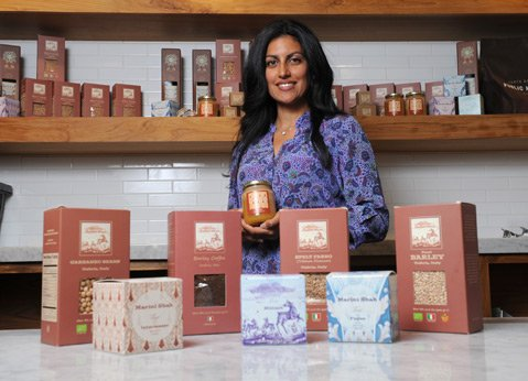 <b>UMBRIAN EATS:</b>  Sapna Marini Shah now imports Italian goods from her husband's farm to Santa Barbara.